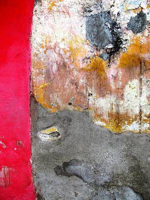 Photograph - Wall Abstract 151 by Maria Huntley