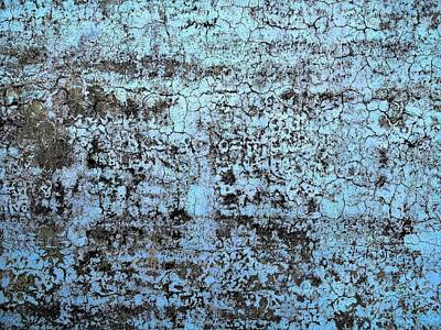 Photograph - Wall Abstract 163 by Maria Huntley