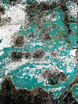 Photograph - Wall Abstract 171 by Maria Huntley
