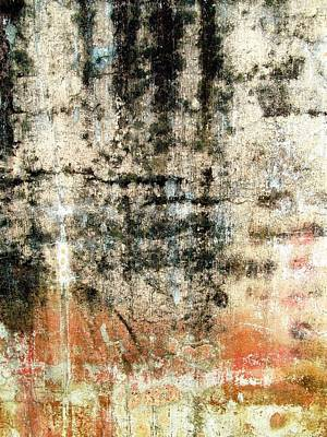 Photograph - Wall Abstract 182 by Maria Huntley