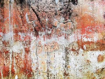 Photograph - Wall Abstract  183 by Maria Huntley