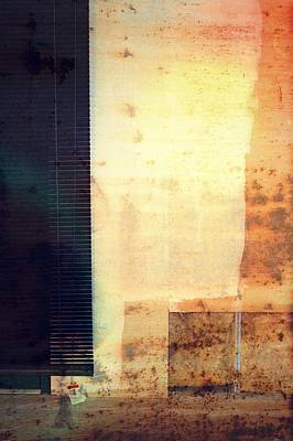Photograph - Wall Abstraction by Mike McCool