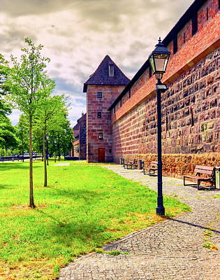 Photograph - Wall And Tower Of The Fortification In Old Town, Nuremberg, Germany by Elenarts - Elena Duvernay photo