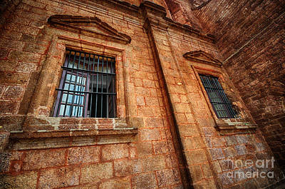 Photograph - Wall And Windows by Charuhas Images
