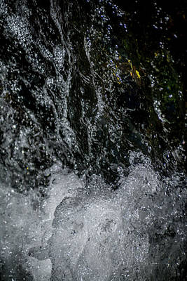 Photograph - Water Art 15 by Bill Posner