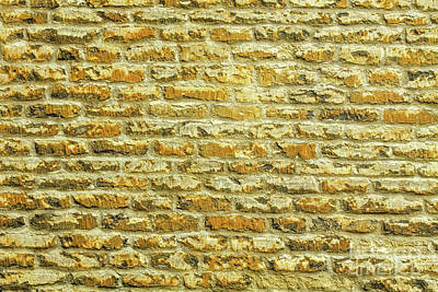 Photograph - Wall Brick, Oxford, England, Uk by Tom Rydel