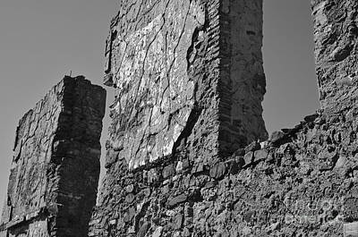Medieval Photograph - Wall Decay 2 by Angelo DeVal