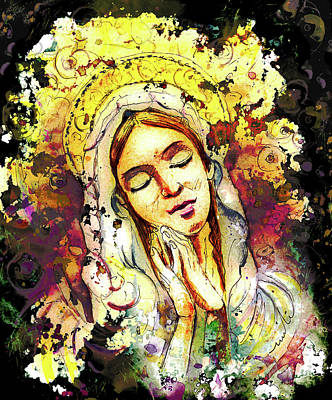 Painting - Wall Icon In Malta 04 Bis by Miki De Goodaboom