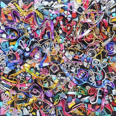 Wall Jewelry 3r Art Print