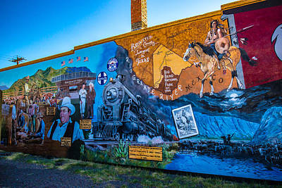 Wall Mural In Alpine Texas Original
