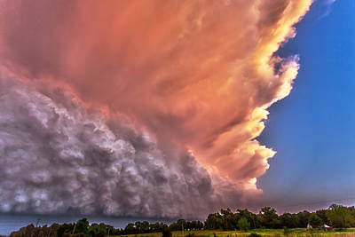 Photograph - Wall Of Boiling Clouds by James Menzies
