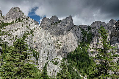 Photograph - Wall Of Crags by Greg Nyquist