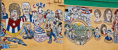 Photograph - Wall Of Cuba by Dart and Suze Humeston