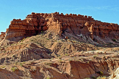 Photograph -  Wall Of Goblins Along  Carmel Canyon Trail In Goblin Valley State Park, Utah   by Ruth Hager