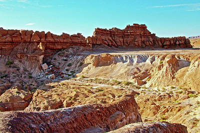Photograph - Wall Of Goblins In Carmel Canyon Trail In Goblin Valley State Park, Utah by Ruth Hager