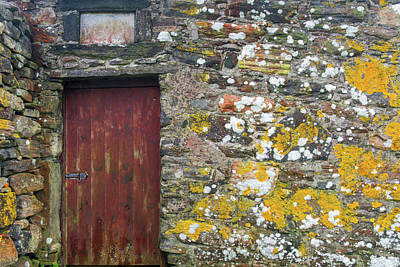 Berneray Photograph - Wall Of Many Colors by Michael Blanchette