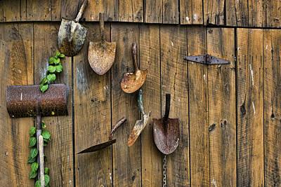 Wall Of Spades Original by Hugh Smith