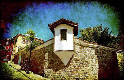 Photograph - Wall Of Stone by Milena Ilieva