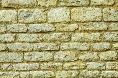 Photograph - Wall, Oxford, England, Uk by Tom Rydel