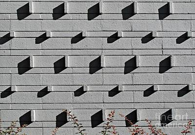 Photograph - Wall Pattern by Ethna Gillespie
