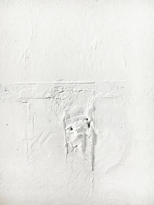 Asbestos Photograph - Wall Plaster Detail by Tom Gowanlock