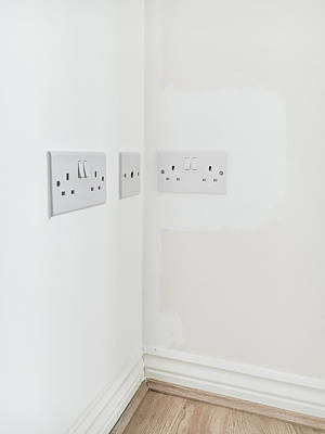 Wall Plugs Art Print