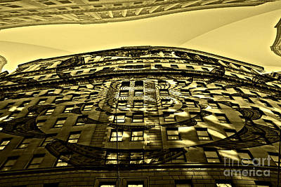 Photograph - Wall Street Looking Up by Julie Lueders