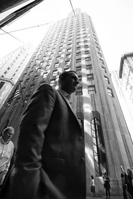 Photograph - Wall Street Man II by Dave Beckerman