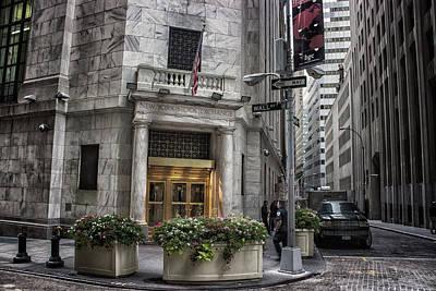 Wall Street Art Print by Martin Newman
