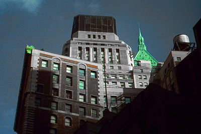Photograph - Wall Street Tops - New York Highlight by Art America Gallery Peter Potter