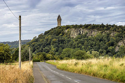 Photograph - Wallace Monument by Jeremy Lavender Photography