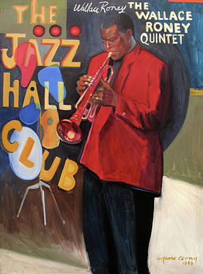 Painting - Wallace Roney by Suzanne Giuriati-Cerny