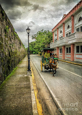Manila Photograph - Walled City by Adrian Evans