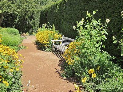 Photograph - Walled Garden by Kathie Chicoine