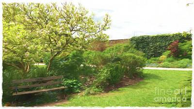 Digital Art - Walled Garden by Roger Lighterness