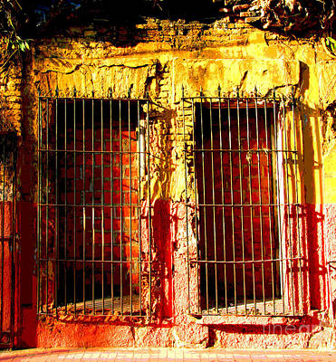 Portal Photograph - Walled Ruin By Peter Birnie by Mexicolors Art Photography