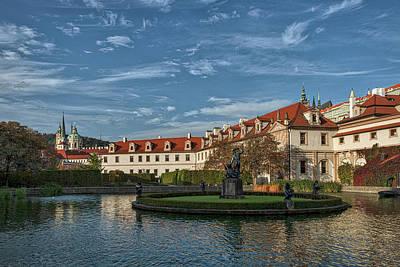 Photograph - Wallenstein Garden - Prague by Stuart Litoff
