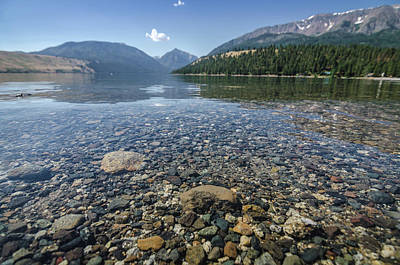 Photograph - Wallowa Lake No.1 by Margaret Pitcher