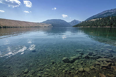 Photograph - Wallowa Lake No.2 by Margaret Pitcher