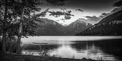 Photograph - Wallowa Lake Sunset II by Don Schwartz
