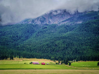 Photograph - Wallowa Valley by TK Goforth