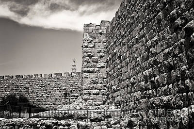 Photograph - Walls Of Jerusalem by John Rizzuto