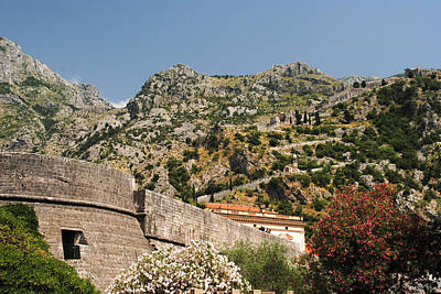 Photograph - Walls Of Kotor by Robert Moss