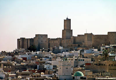 Photograph - Walls Of The Kasbah Of Sousse by Slim Alileche