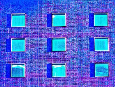 Walls Of Windows Art Print by Gillis Cone