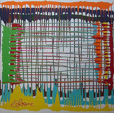 Painting - Wallstreet by Sarah LaRose Kane