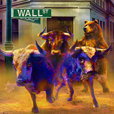 Painting - Wall Street Il by Doug Kreuger