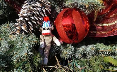 Photograph - Wally's Christmastime Fun by Jennifer Wheatley Wolf