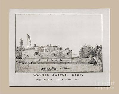 Walmer Castle Kent Art Print