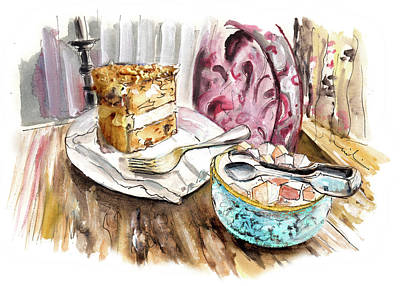 Painting - Walnut Cake In Whitby by Miki De Goodaboom